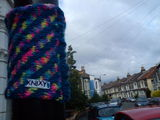 #yarnbomb from  KNIXY #streetart in bristol