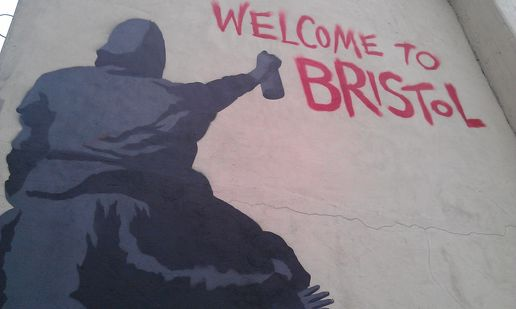 Welcome to Bristol #streetart #stencils