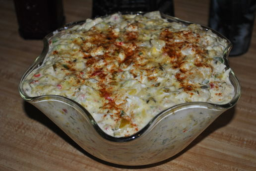 Evelyn Douglas's Moms- Potato Salad
