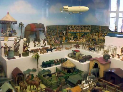 children's toy museum at Prague Castle