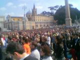 MILLIONS GATHERING IN ROME
