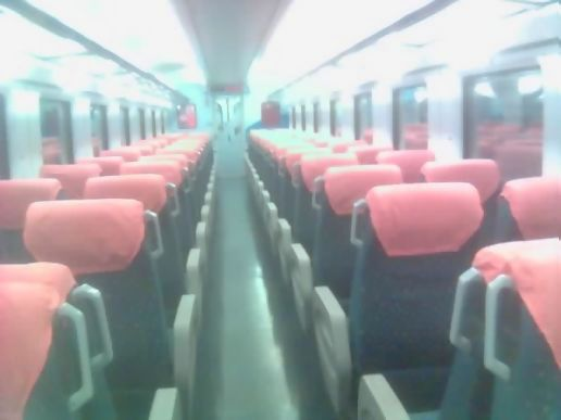Empty carriage