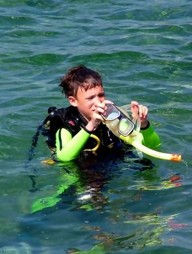 Our diving course in Cyprus