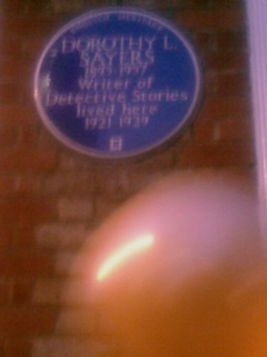 Dorothy Sayers, Northington St