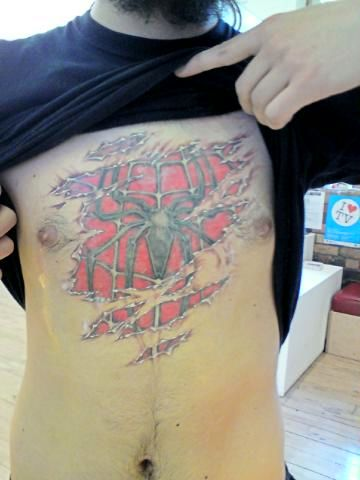 One of my new collegues is having most AWESOME tattoo,