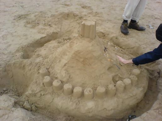 Big sandcastle
