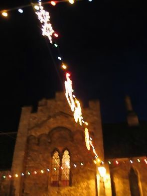Ely Christmas lights