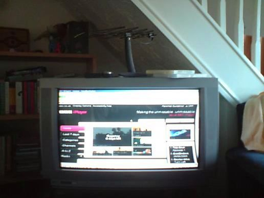 iPlayer on the normal television