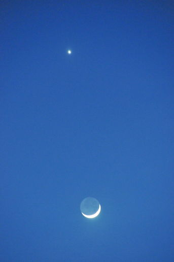New Moon and Venus