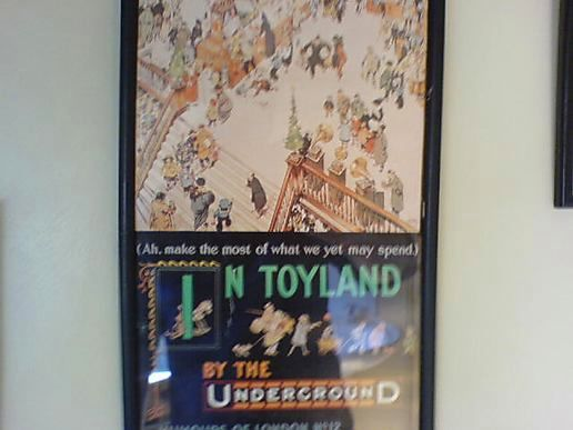 Old London Underground posters