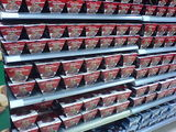 Christmas puddings in Marks and Spencer, Cambridge