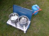 Heavy duty camp cookery