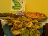 The great Moblog cheesy pea quiche