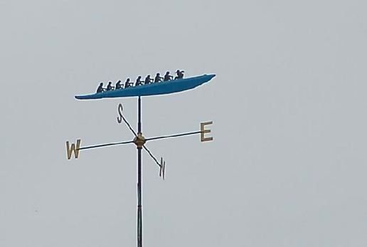 Wind Vane Pictures Wind Vane of an Eight at Fen