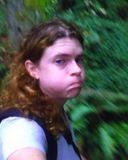 Me. Doing the hiking. Making the face.