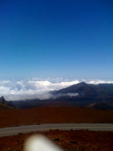 Haleakala 1023 ft above sea level