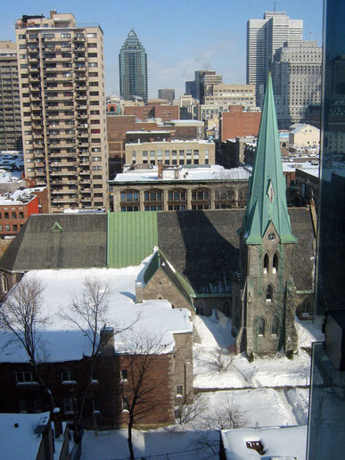A View of Montreal