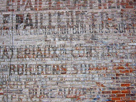 "Another ""ghost"" sign"