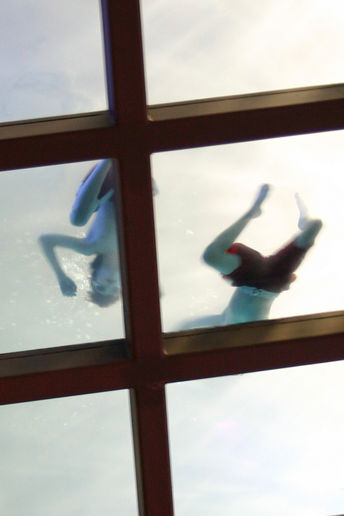 Glass-Bottomed Pool