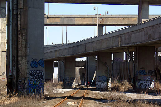 Near the Turcot Yards