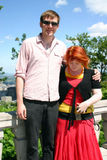 Beth and Dan on Mont Royal