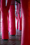 Complexe Guy Favreau, the pink forest
