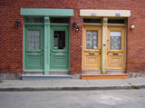 Montreal doorways