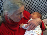 Oliver Isaac and his Grandma