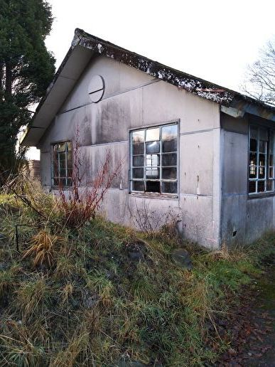 Abandoned fever hospital at Killearn