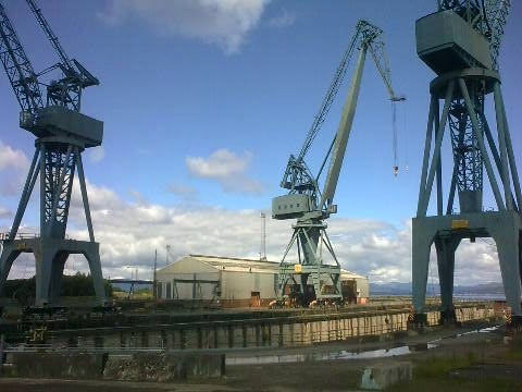 Graving Dock at Bogston, Greenock
