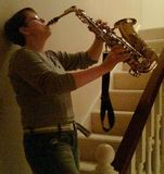 Got the saxophone out