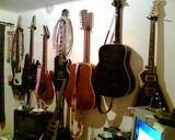 My guitar wall.
