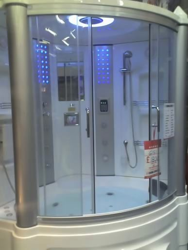The best shower in the world.