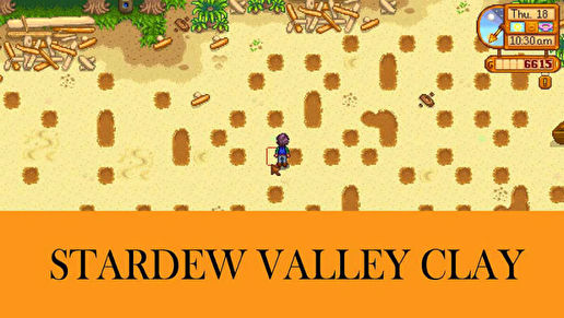 Stardew Valley - Clay
