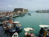 Venetian castle at Heraklion harbour