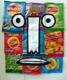FMP - Charlie the recycled crisp packet man