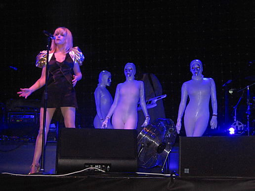 GOLDFRAPP - EDEN SESSIONS PICS