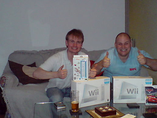 Can I have a wii please Bob?!