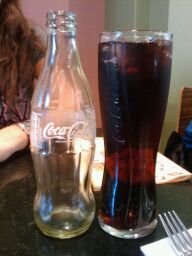 Coolest coke glasses EVER!