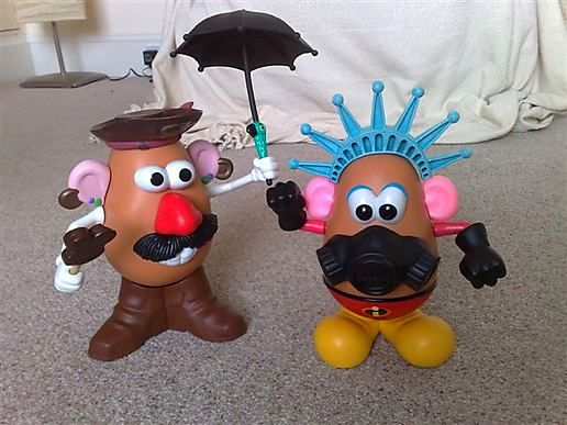 Mr Potato Head and Friends