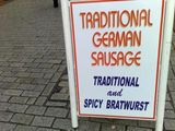 can't beat a spicy sausage!