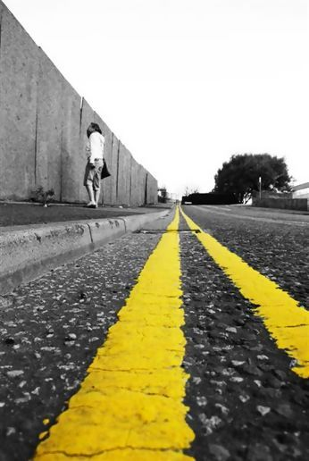 Yellow Lines, Running through my mind!