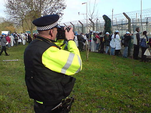 Police camera action