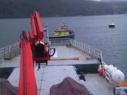 police head towards arctic sunrise