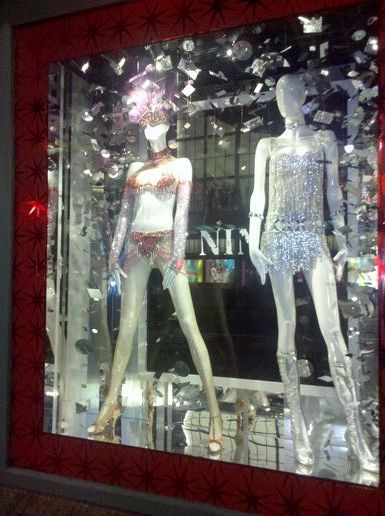 Macy's store window - a little racier...