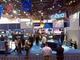 A shot of central hall from Panasonic's booth