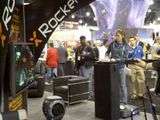 CES Day 2 - xRocker Booth