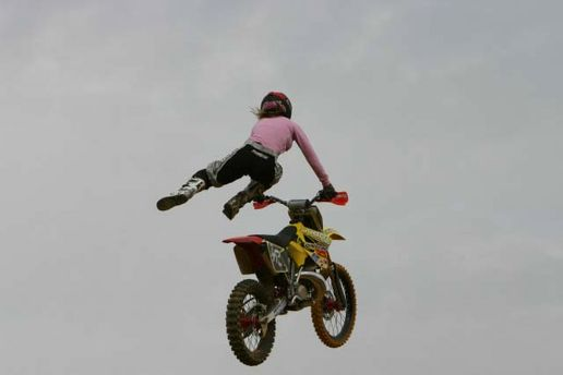 Bikes Jumping Jumping dirt bikes with my
