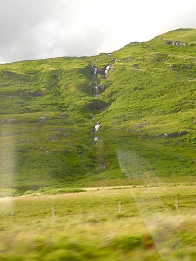 Mull through a coach window