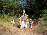 Hindu Deity on Danti Beach